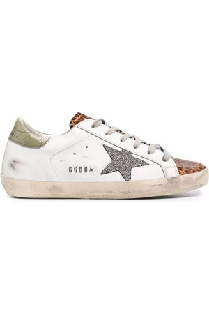 Golden Goose Naiset Tennarit - Super-Star low-top lace-up sneakers