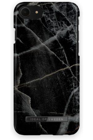 IDEAL OF SWEDEN Naiset Puhelinkuoret - Fashion Case iPhone 8 Black Thunder Marble