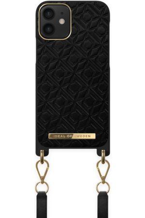 IDEAL OF SWEDEN Naiset Puhelinkuoret - Atelier Necklace Case iPhone 12 Mini Embossed Black