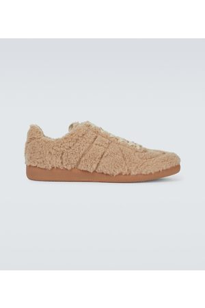 Maison Margiela Miehet Tennarit - Replica faux-shearling sneakers