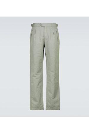 Orlebar Brown Miehet Housut - Caldwell linen pants