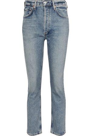 Citizens of Humanity Naiset Korkeavyötäröiset - Jolene high-rise straight jeans