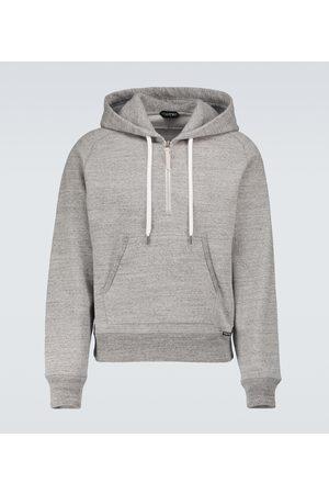 Tom Ford Miehet Collegepaidat - Fleck mélange hooded sweatshirt