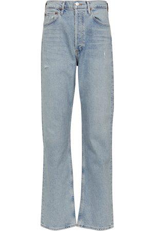 Citizens of Humanity Naiset Korkeavyötäröiset - Eva high-rise straight jeans