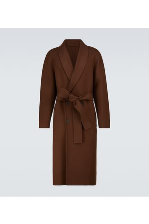 The Row Ferro double-breasted wool coat