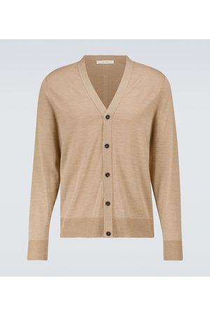 The Row Miehet Neuletakit - Crispin wool and silk cardigan