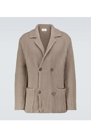 The Row Delfino wool and cashmere jacket