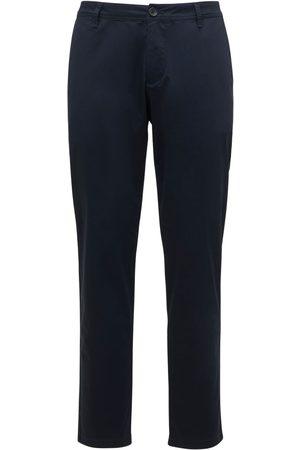 Armani Stretch Cotton Twill Pants
