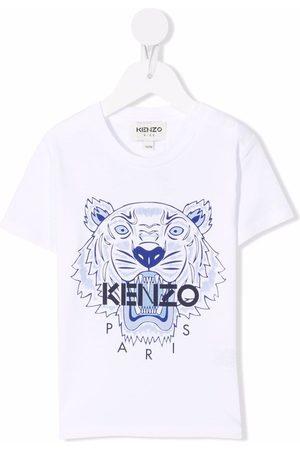 Kenzo T-paidat - Tiger Head motif cotton T-Shirt