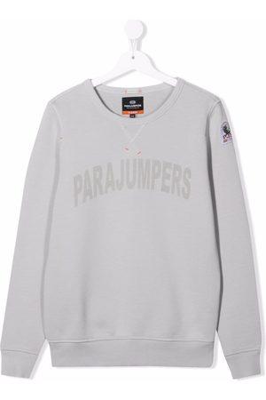 Parajumpers Collegepaidat - TEEN logo-print crewneck sweatshirt