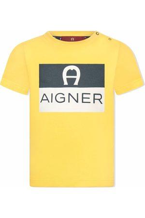 Aigner T-paidat - Logo-print cotton T-shirt