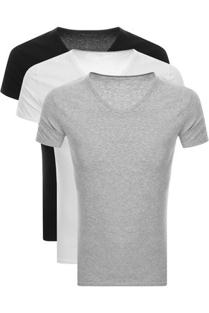 Tommy Hilfiger Miehet T-paidat - Lounge 3 Pack V Neck T Shirts