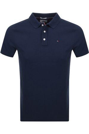 Tommy Hilfiger Miehet Farkku - Slim Fit Polo Shirt Navy
