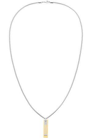 Tommy Hilfiger Miehet Kaulakorut - Double Dog Tag Necklace Silver