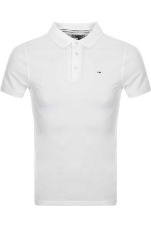 Tommy Hilfiger Miehet Farkku - Slim Fit Polo Shirt White