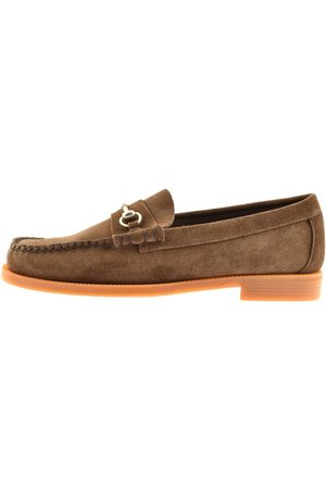 G.H. Bass Miehet Loaferit - Weejun Lincoln Suede Loafers Brown
