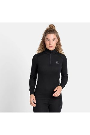 Odlo Naiset Topit - Women's ACTIVE WARM ECO Half-Zip Turtleneck Base Layer Top XS