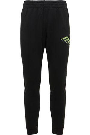 EA7 Miehet Collegehousut - Eagle Cotton Sweatpants