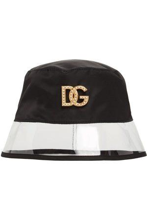 Dolce & Gabbana Metal Logo Bucket Hat