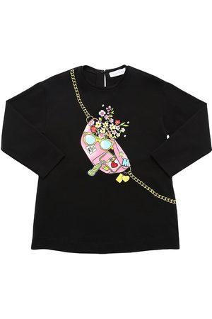 MONNALISA Printed Cotton Jersey T-shirt