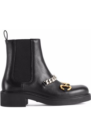 Gucci Horsebit-detail ankle boots