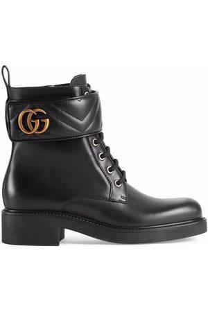Gucci Naiset Nilkkurit - Logo-plaque ankle boots