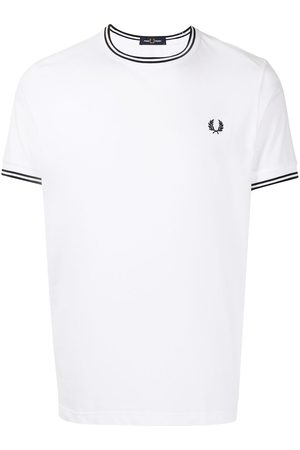 Fred Perry Miehet T-paidat - Twin Tipped cotton T-shirt