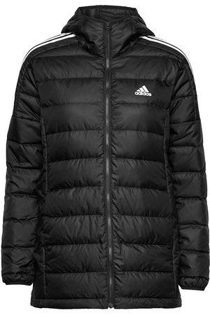 adidas Essentials Light Down Hooded Parka W Vuorillinen Takki Topattu Takki