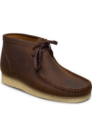 Clarks Wallabee Boot Desert-kengät Nauhakengät Ruskea