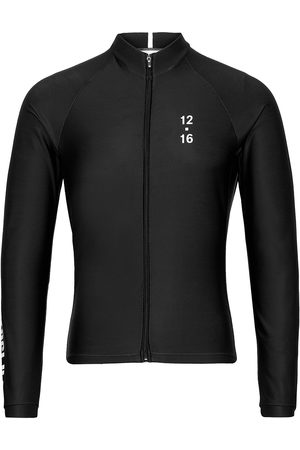 TWELVE SIXTEEN 0174 Jersey L/S Elite Andorra Black/White Svetari Collegepaita