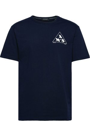 Scotch&Soda Graphic Logo Relaxed-Fit Jersey T-shirts Short-sleeved