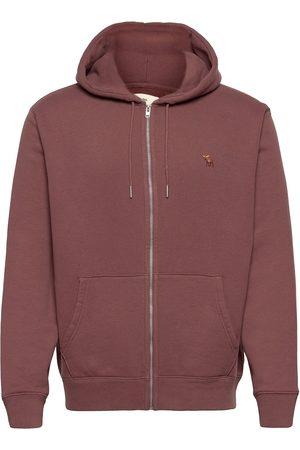 Abercrombie & Fitch Anf Mens Sweatshirts Huppari Ruskea