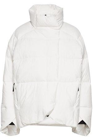 adidas Big Baffle Down Jacket W Vuorillinen Takki Topattu Takki Valkoinen
