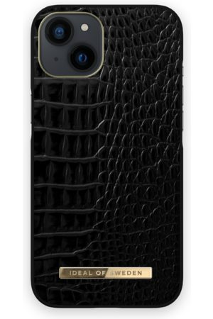 IDEAL OF SWEDEN Naiset Puhelinkuoret - Atelier Case iPhone 13 Neo Noir Croco