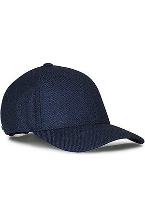 Varsity Miehet Hatut - Loro Piana Cashmere Baseball Cap Navy