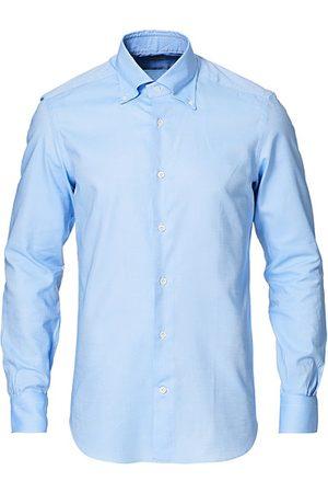 MAZZARELLI Miehet Bisnes - Soft Oxford Button Down Shirt Light Blue