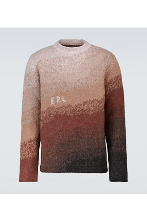 ERL Bowy mohair-blend sweater