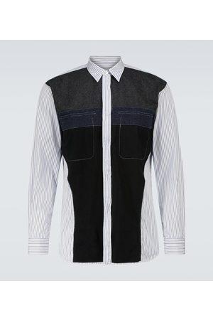 Comme des Garçons Deconstructed cotton and wool shirt