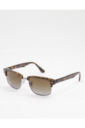 Ray-Ban Rayban 0RB4190 clubmaster sunglasses-Brown