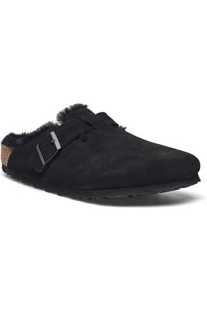 Birkenstock Boston Shearling Shoes Business Laced Shoes