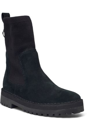 Clarks Rock Knit Shoes Boots Ankle Boots Ankle Boot - Flat