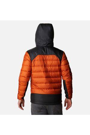Columbia Miehet Untuvatakit - Men's Autumn Park Down Hooded Jacket Tumma XL