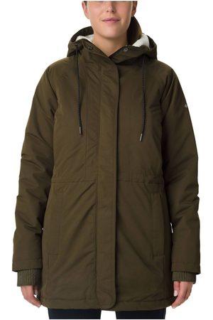 Columbia Naiset Talvitakit - Women's South Canyon Sherpa Lined Jacket Oliivi L