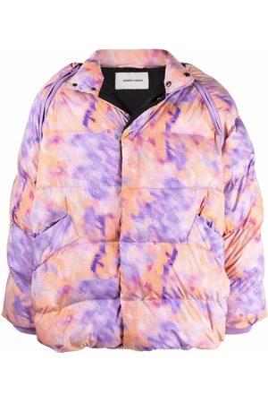 HENRIK VIBSKOV Filo abstract-print padded jacket