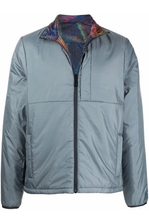 Paul Smith Miehet Bomber - Reversible recycled polyester jacket
