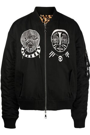 HACULLA Embroidered logo bomber jacket
