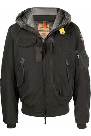 Parajumpers Logo-patch down jacket