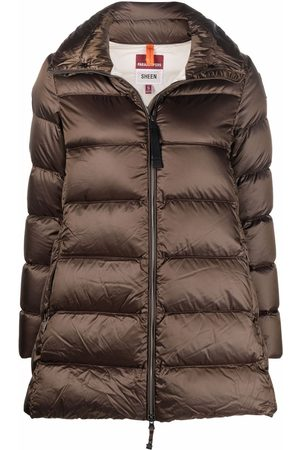 Parajumpers Naiset Untuvatakit - Logo-patch padded coat