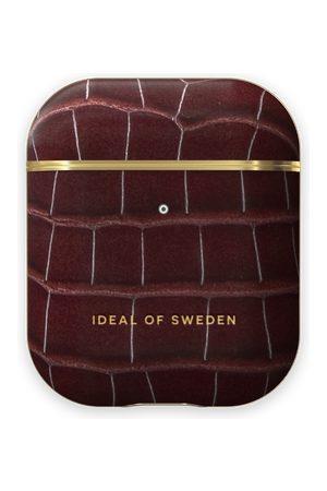 IDEAL OF SWEDEN Naiset Puhelinkuoret - Atelier AirPods Case Scarlet Croco