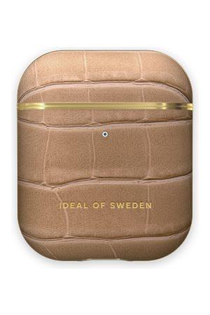 IDEAL OF SWEDEN Naiset Puhelinkuoret - Atelier AirPods Case Camel Croco